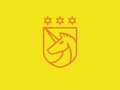 Team Unicorns logo crest icon unicorns horse team teams unicorn