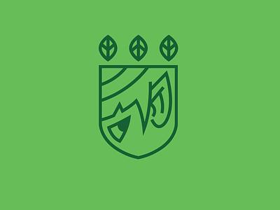 Team Elves logo crest icon leaf ears elf team teams elves