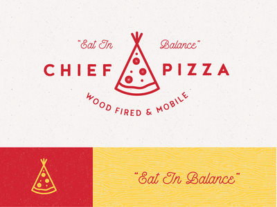 Chief Pizza tee-pee indian native chief mobile truck food pizza
