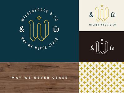 Wilberforce & Co Branding star w branding logo