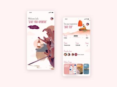 Adventure App 🚣🏻♀️