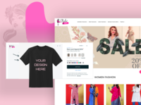 Ecommerce Custom Clothing Website Design