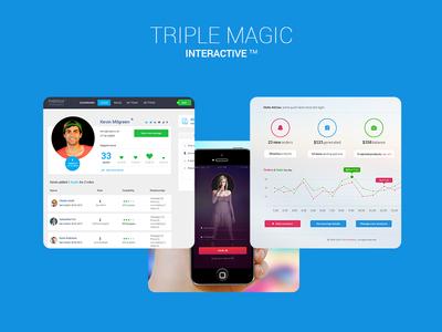 Triple Magic Landing Page