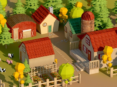 Stardew Valley (3D Fan Art)