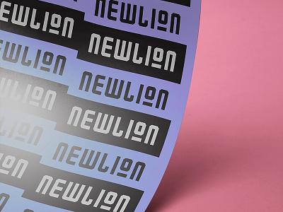 Newlion Font regular type typography font
