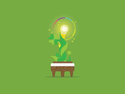 Irish Luck creativity idea plant luck irish