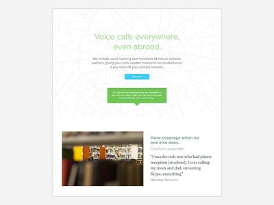 Voice calls everywhere.  prototype visual uiux ux design ui design web design wireframe adobe xd mock-up design