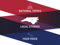 National Topics. Local Stories. Your Voice.