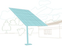 Solar Panel Illustration—Issue III: Environment