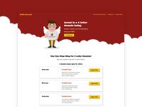 4LD Homepage Design