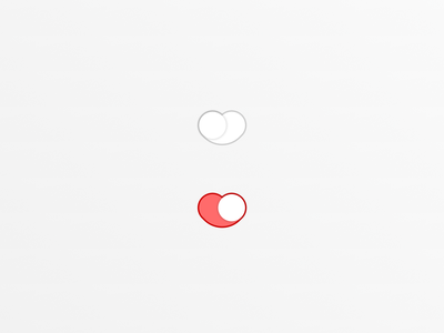 To love, or not to love? interation heart switch heart love switch ui design ui design