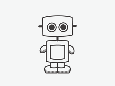 Gertbot cute robotodex bot illustration robot