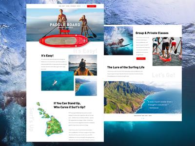 Surfing Website