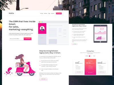 Chrome Extension Landing Page