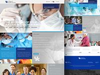 UK College of Health Sciences website design