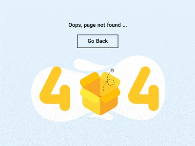 404 website ui bee box page ops oh error car 404