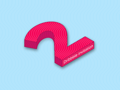 2 Dribbble Invitation 3d giveaway players draft invitaion dribbble 2