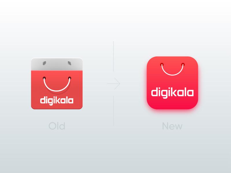 new Digikala app icon brand logo ios android app digikala iran icon
