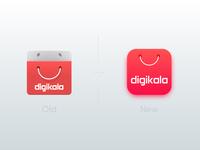 new Digikala app icon