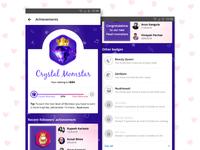 User Profile - Achievements