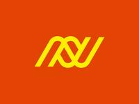 Neville Railways n geometric links logistics railway delivery cargo logo symbol sale for sale sign brand identity app brandmark storozhevantosha logodesign