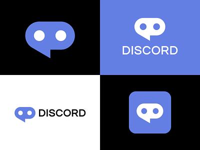 Discord icon flat sign mark emblem logo app storozhevantosha brandmark symbol