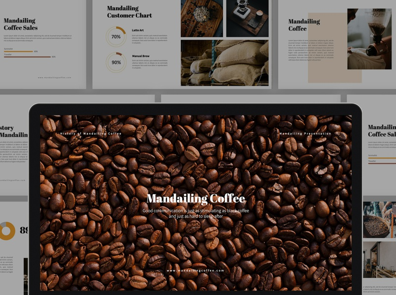 Mandailing Coffee Powerpoint Template