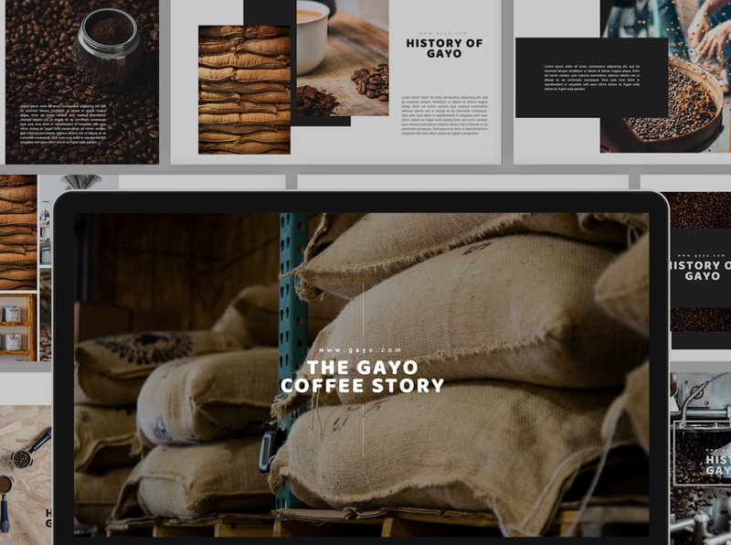 Gayo Coffee Powerpoint Template