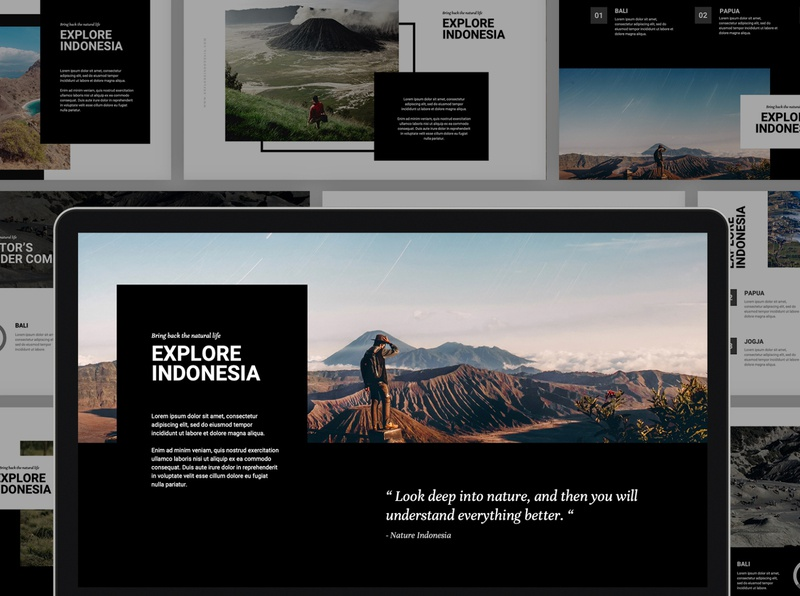 Explore Indonesia Keynote Template
