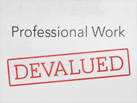 Professional Work — Devalued