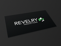Revelry Productions – Logo & Business Card