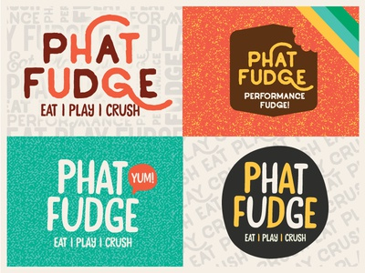 Phat Fudge Logos