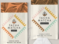 Tacha Matcha — single serve matcha tea mixes