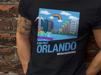 Fan Fest Orlando Official Shirt