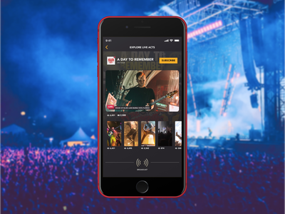 Social Concert Broadcasts live video broadcast mobile music concert