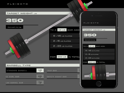 pleighto.com training exercise responsive barbell workout live