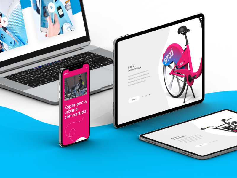 Smod - Website web  design web website design thinking ui design
