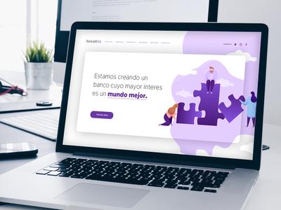 Banca Etica • Homepage homepage website ux web  design web ui design