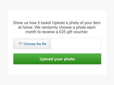 Choose the file upload form file upload