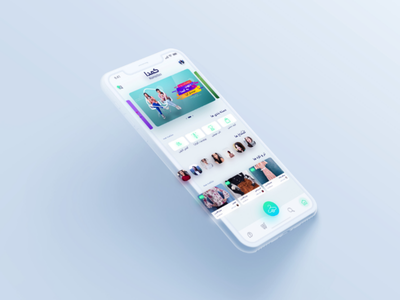Komodaa App Redesign Concept design persian iran social media girls home fashion app fashion komodaa concept application app user interface ux ui redesign