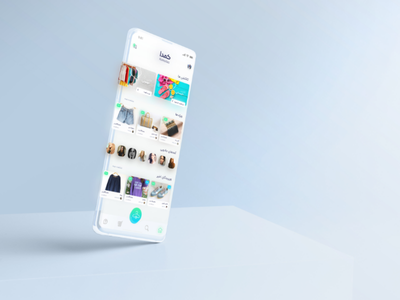 Komodaa App Redesign Concept ux user interface ui social media redesign persian komodaa iran home girls fashion app fashion design concept application app