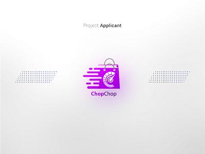 ChopChop Grocery Marketplace brand logo design logo webdesign web visual identity ui desgin ux ui grocery store idenity graphic design design branding