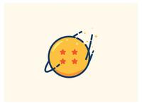 Dragon Ball sparkly icon flat goku dragon ball super dragon ball z dragon ball