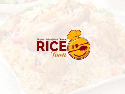 rice town logo graphic designing logo design logo design branding
