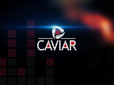 Caviar logo design