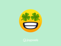 JoyPixels Four Leaf Clover Smiley - All Smiles 1.0