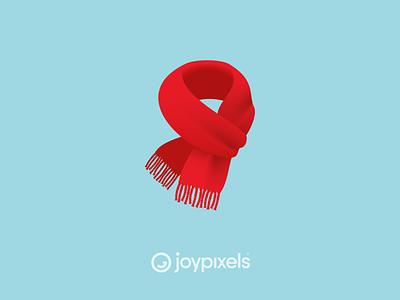 The JoyPixels Scarf Emoji - Version 6.0 scarves coat winter scarf glyph graphic emojis character illustration icon emoji