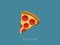 The JoyPixels Pizza Emoji - Version 4.5