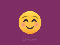 The JoyPixels Smiling Face Emoji - Version 4.5