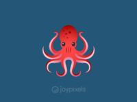 The JoyPixels Octopus Emoji - Version 4.5